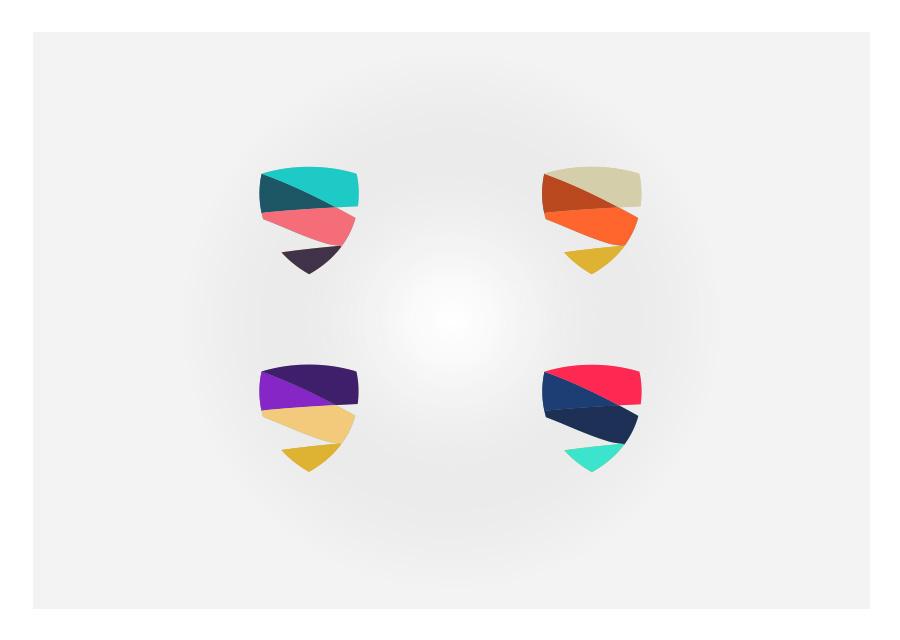 Déclinaison du logo MB Talents
