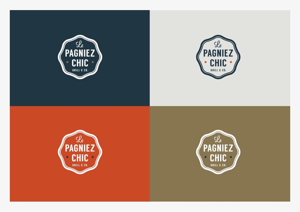 Logo Pagniez-Chic par l'agence Paoma