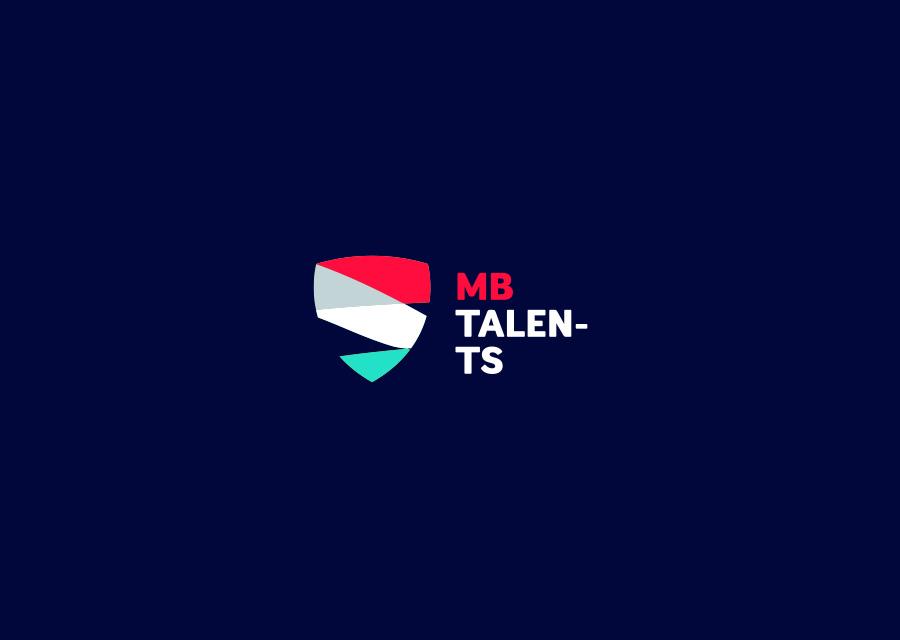 Logo MB Talents par l'agence Paoma