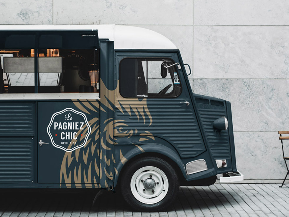 Camionnette Pagniez-Chic Designer par Paoma